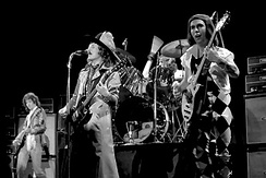 Slade performing in Norway in 1977.