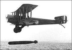 Sopwith Cuckoo, a type flown by Dickson in the 1920s