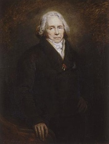 Prince Talleyrand, Thiers' political mentor, in 1828