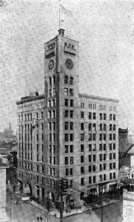 The Oregonian Building of 1892 was the paper's home until 1948. It was demolished in 1950.