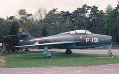 Royal Netherlands Air Force F-84F