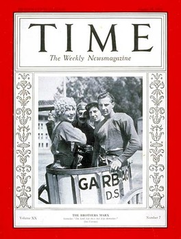 Cover of Time (August 15, 1932)