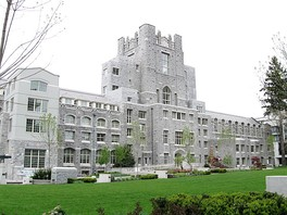 The UBC Vancouver School of Theology building, recently acquired by the Vancouver School of Economics, built in 1927