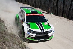 With Škoda Fabia R5, Škoda Motorsport team won the 2015, 2016 and 2017 FIA World Rally Championship-2, which focuses on production-based cars.