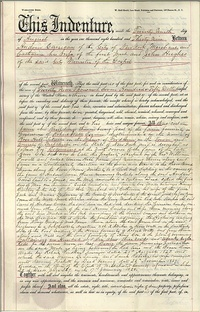 1839 deed to St. John's College and St. Joseph's Seminary[28]
