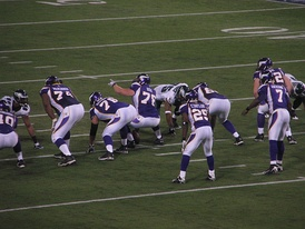 McKinnie (74) with the Vikings.