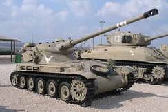 Israeli Armor of the Six Day War: pictured here the AMX 13