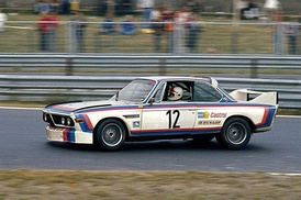 Chris Amon won the 1973 Nürburgring 6 hour race, sharing a works BMW 3.0 CSL with Hans Stuck