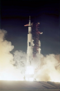 Apollo 17 launches on December 7, 1972