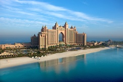 View of Atlantis, The Palm luxury hotel
