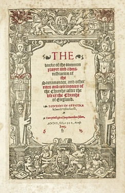 The first Book of Common Prayer (1549), which first presented the modern Anglican Daily Office services in essentially the same form as present.