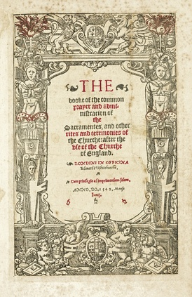 Cranmer's 1549 Book of Common Prayer
