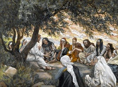 James Tissot, The Exhortation to the Apostles.