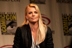 Charlize Theron was one of the main guests of the second night