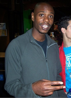 Dave Chappelle in October 2007.