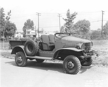 WC-13 half-ton 4x4 with optional M24 machine gun mount.