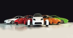 Elio Motors Prototypes with the first of the E-Series vehicles