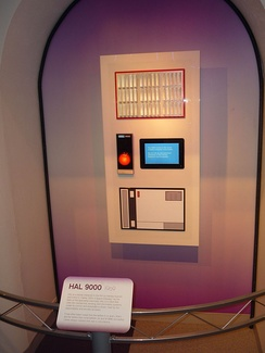 HAL 9000, the computer from 2001: A Space Odyssey
