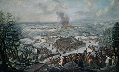 The Battle of Maxen in Saxony