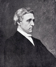 A posthumous portrait of Lewis Carroll by Hubert von Herkomer, based on photographs. This painting now hangs in the Great Hall of Christ Church, Oxford.