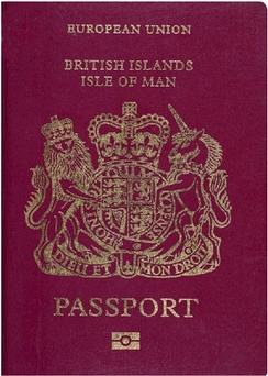 British passport (Isle of Man)
