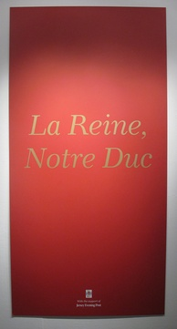 """La Reine, Notre Duc"" (The Queen, Our Duke): title of a Diamond Jubilee exhibition at the Jersey Arts Centre in 2012"