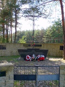 Memorial for Polish victims.