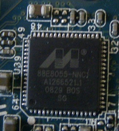 Marvell Yukon Gigabit Ethernet controller in a Sony Vaio FW series laptop