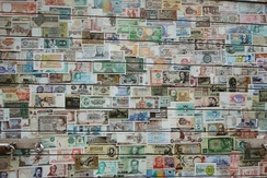 Paper money from different countries