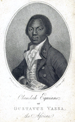 Olaudah Equiano, a significant figure involved with the abolition of the Atlantic Slave Trade