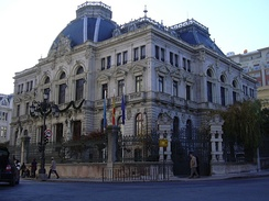 Parliament building of the Principality of Asturies