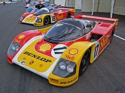 Group C Porsche 962 from 1988
