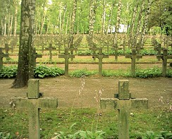 Graves of Polish soldiers killed during the Battle of Warsaw of 1920, Powązki Military Cemetery, Warsaw
