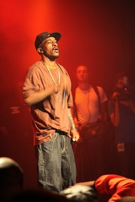 Rakim at the Paid Dues hip hop festival in New York, June 4, 2008