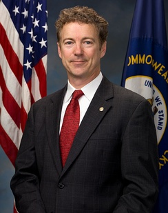 Rand Paul's official portrait for the 112th Congress.