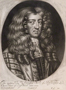 Shaftesbury in the robes of the Lord Chancellor, ca. 1672–1673.