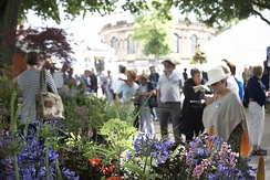 Shrewsbury Horticultural Society organises the town's annual flower show in August.