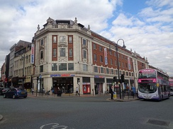 The former Odeon cinema, now Sports Direct