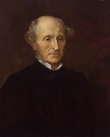 Portrait of Mill by George Frederic Watts (1873)