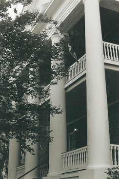 The James Madison Institute (The Columns) first home to Leon County Free Public Library