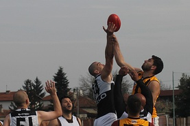 Sofia Magpies vs Zagreb Hawks - the first ever Aussie rules football game in Bulgaria (06.04.2019)