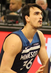 Dario Šarić was selected 12th overall by the Orlando Magic (traded to the Philadelphia 76ers).