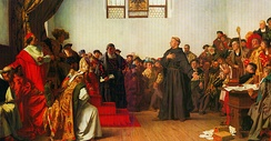 Martin Luther at Worms (1877)