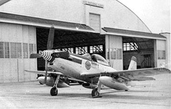 158th Fighter Squadron F-51H Mustang, 1952