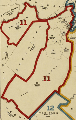 Massachusetts's 11th congressional district, 1901