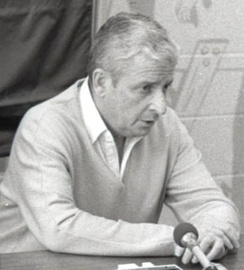 Cleveland owner Art Modell in 1983. Lawsuits by Browns minority owner Bob Gries and the Indians in the early 1980s exacerbated his financial problems.