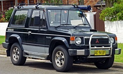 Mitsubishi Pajero Intercooler Turbo Wagon 3-door