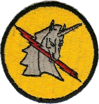 World War II 368th Fighter Squadron emblem