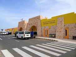 Aristides Pereira International Airport in Boa Vista island