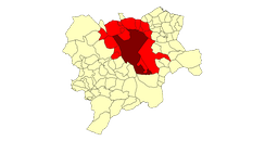 Extension Albacete metropolitan area for the Province.